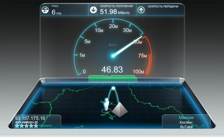 Видео: SpeedTest - Тестирование скорости интернет соединения. видео: speedt